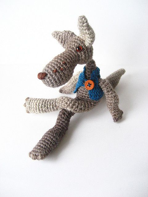 Big Bad Wolf - Amigurumi pattern by Irene Strange | festa ...