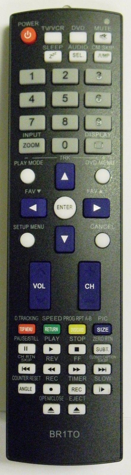 Brand New Replacement Toshiba SE-R0305 TV/DVD Remote Control
