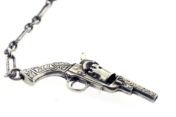 Pistols At Dawn Necklace by Digby & Iona (With images