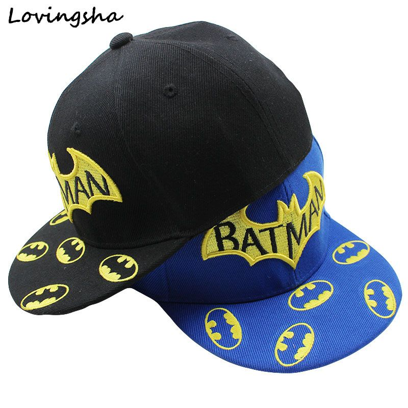 04827276034 LOVINGSHA Boy Baseball Caps High Qaulity Adjustable Cap For Girl Brand Character  Design 3-8