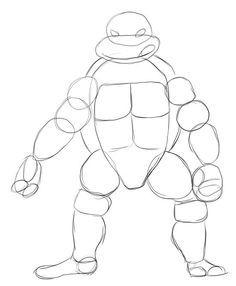 how to draw a ninja turtle google search