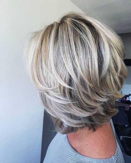 Beste Bilder von geschichteten Haarschnitten für kurzes Haar #shortlayeredhairstyles