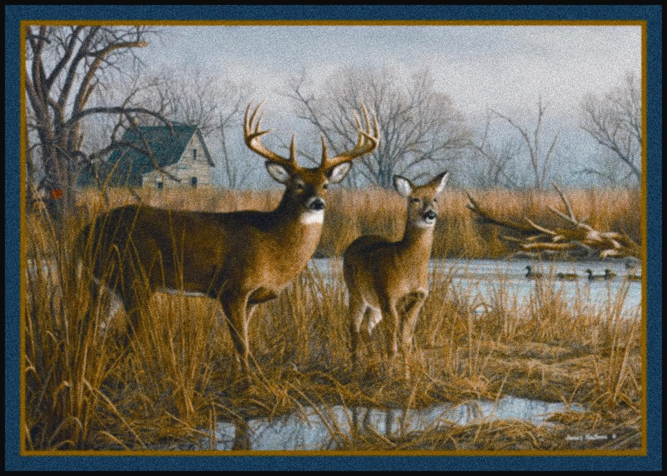 Our Side Of The River Hautman Brothers Deers Fall Scenic