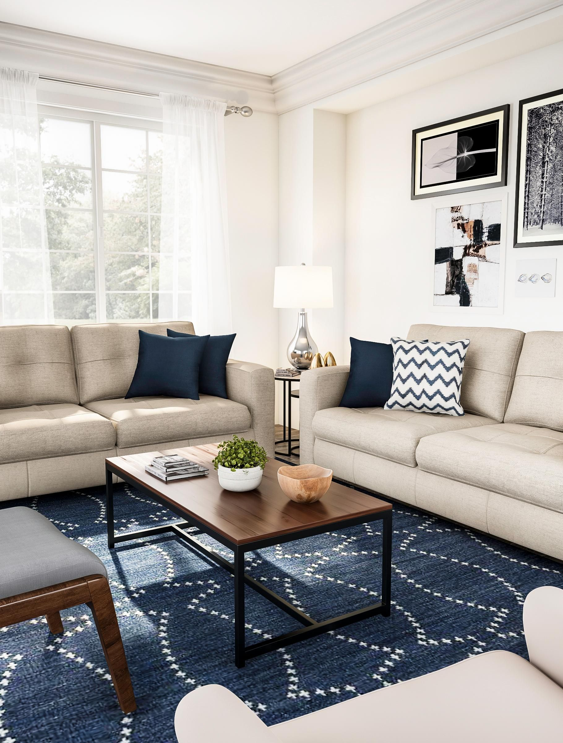 Classic Living Room In Shades Of Tan Tan Living Room Tan Couch Living Room Classic Living Room