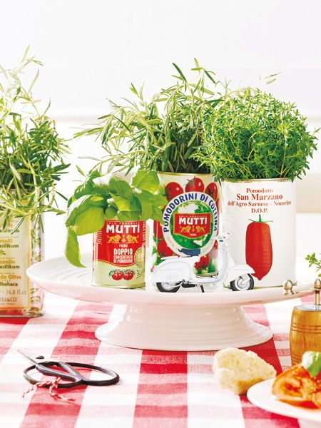 italienische tischdeko wie im lieblingsrestaurant | abs and herbs, Garten ideen gestaltung