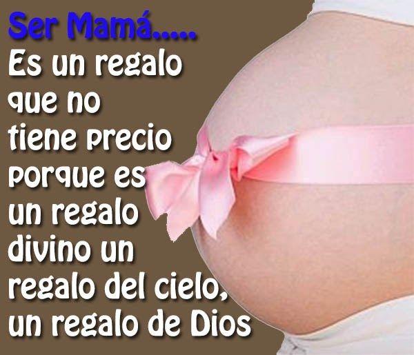 Pin De Karen En Bebé Frases Para Embarazadas
