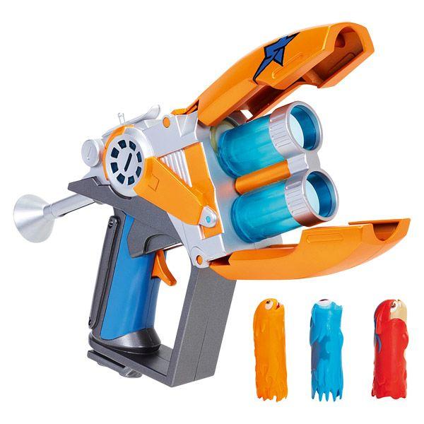 Slugterra Coloris al/éatoire Basic Blaster avec 2 slugs 51633 // 74879