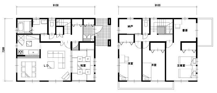 注文住宅 30坪 35坪 40坪の相場はいくら 総額費用 間取り実例集