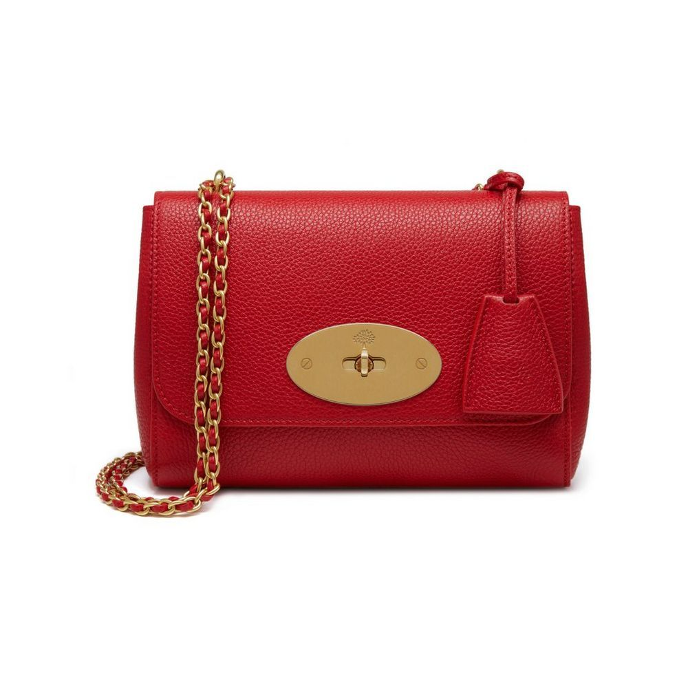 52159590796 Shop the Lily in Scarlet Small Classic Grain at Mulberry.com. The Lily is  an effortlessly elegant style often chosen as an evening bag due to its  versatile ...