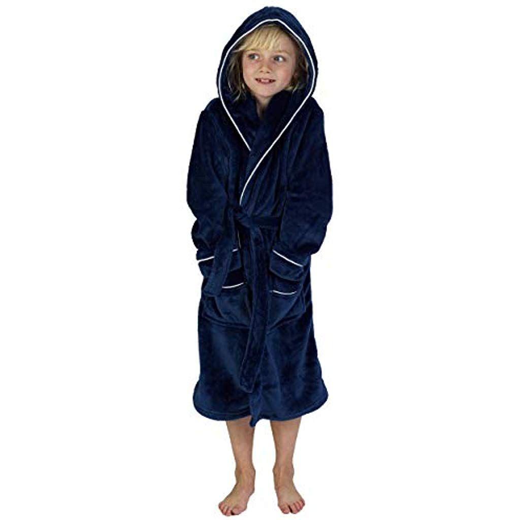 Citycomfort Peignoir Garçon Robe De Chambre Polaire Enfant