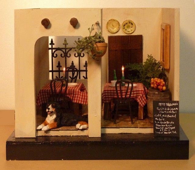 miniature spanish dining room