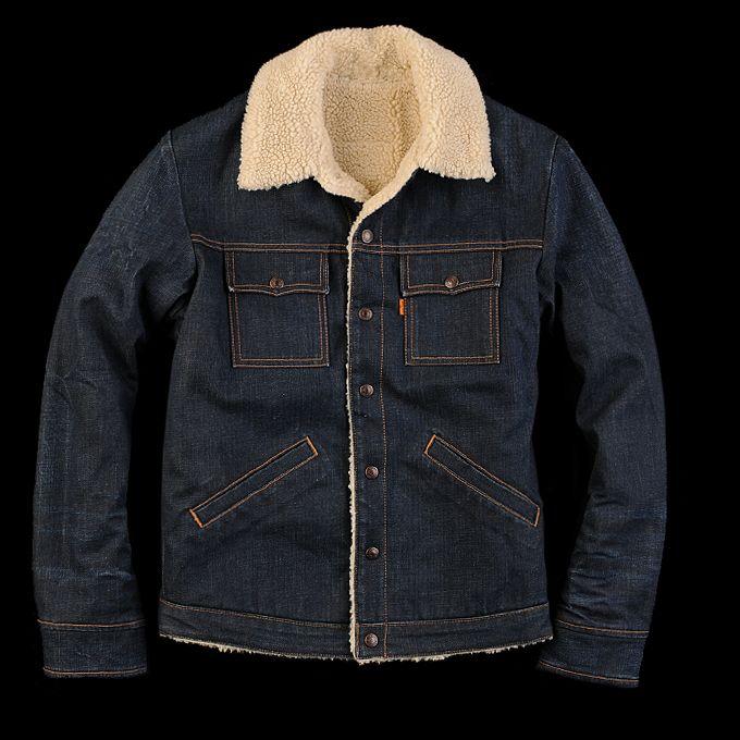 levi 39 s sherpa lined trucker jacket levis pinterest vintage clothing jackets and levis. Black Bedroom Furniture Sets. Home Design Ideas