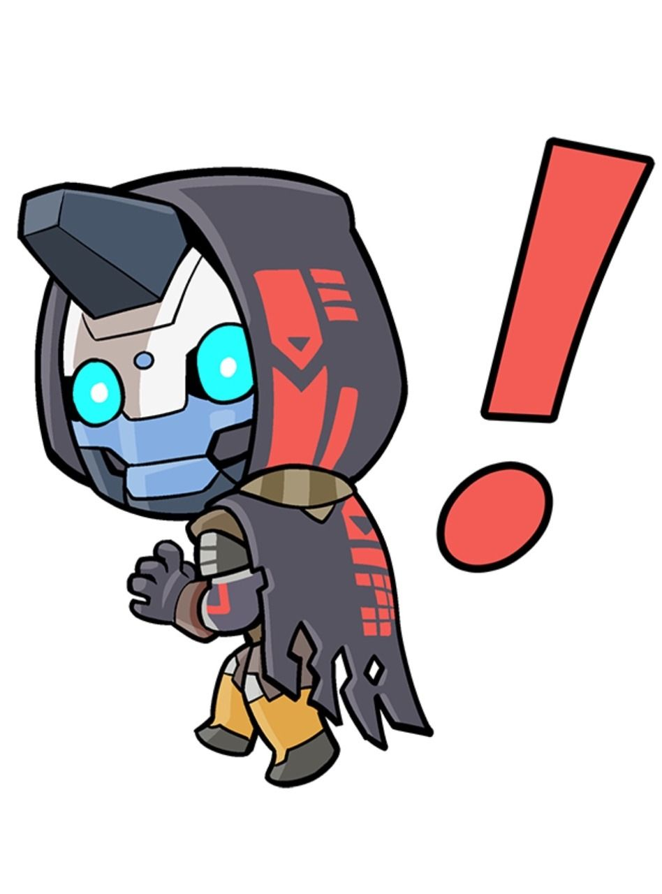 Cayde 6 From The New Destiny Imessage Sticker Pack Destiny