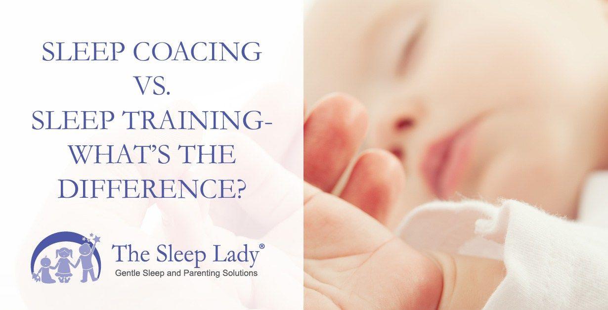 sleep coaching sleep training