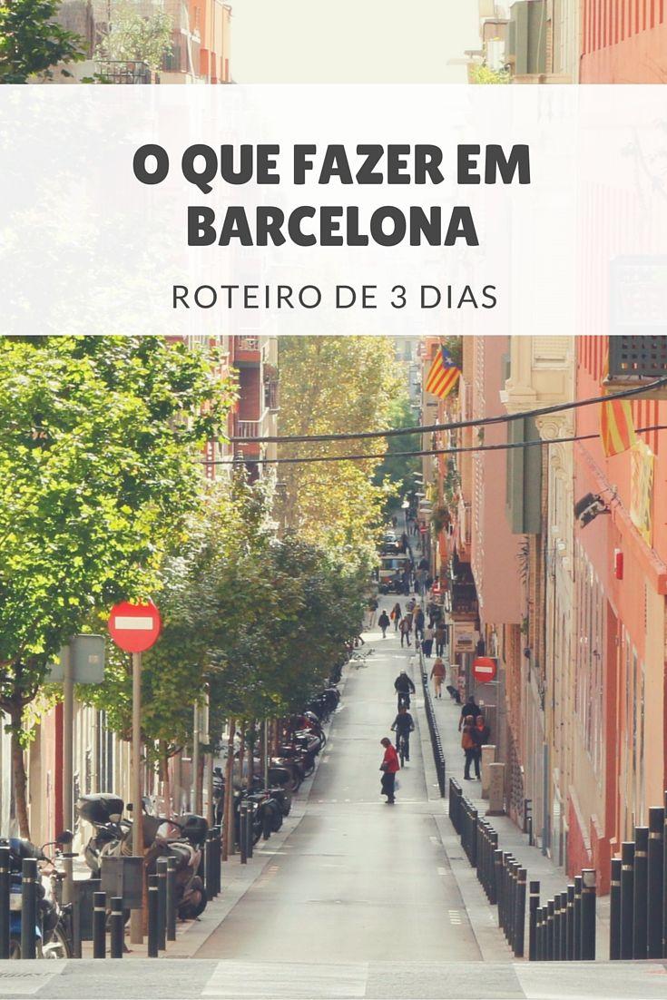 Pesquisamos tudo sobre o que fazer em Barcelona em 3 dias. Veja um roteiro imperdível para conhecer a cidade, incluindo seus principais pontos turísticos.