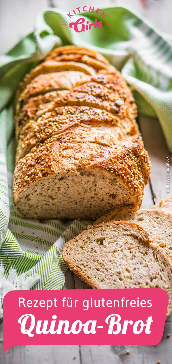Rezept für glutenfreies Quinoa-Brot