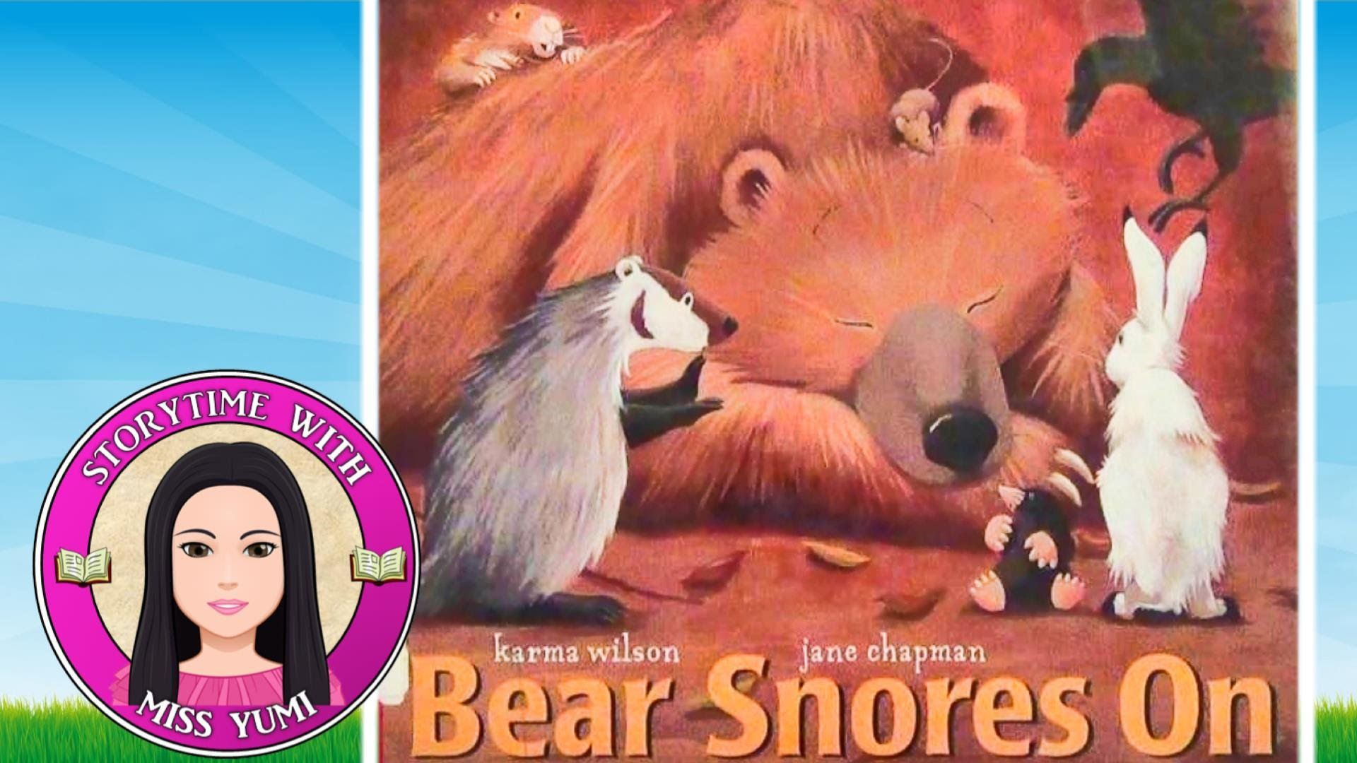 Bear Snores On By Karma Wilson Stories For Kids Children