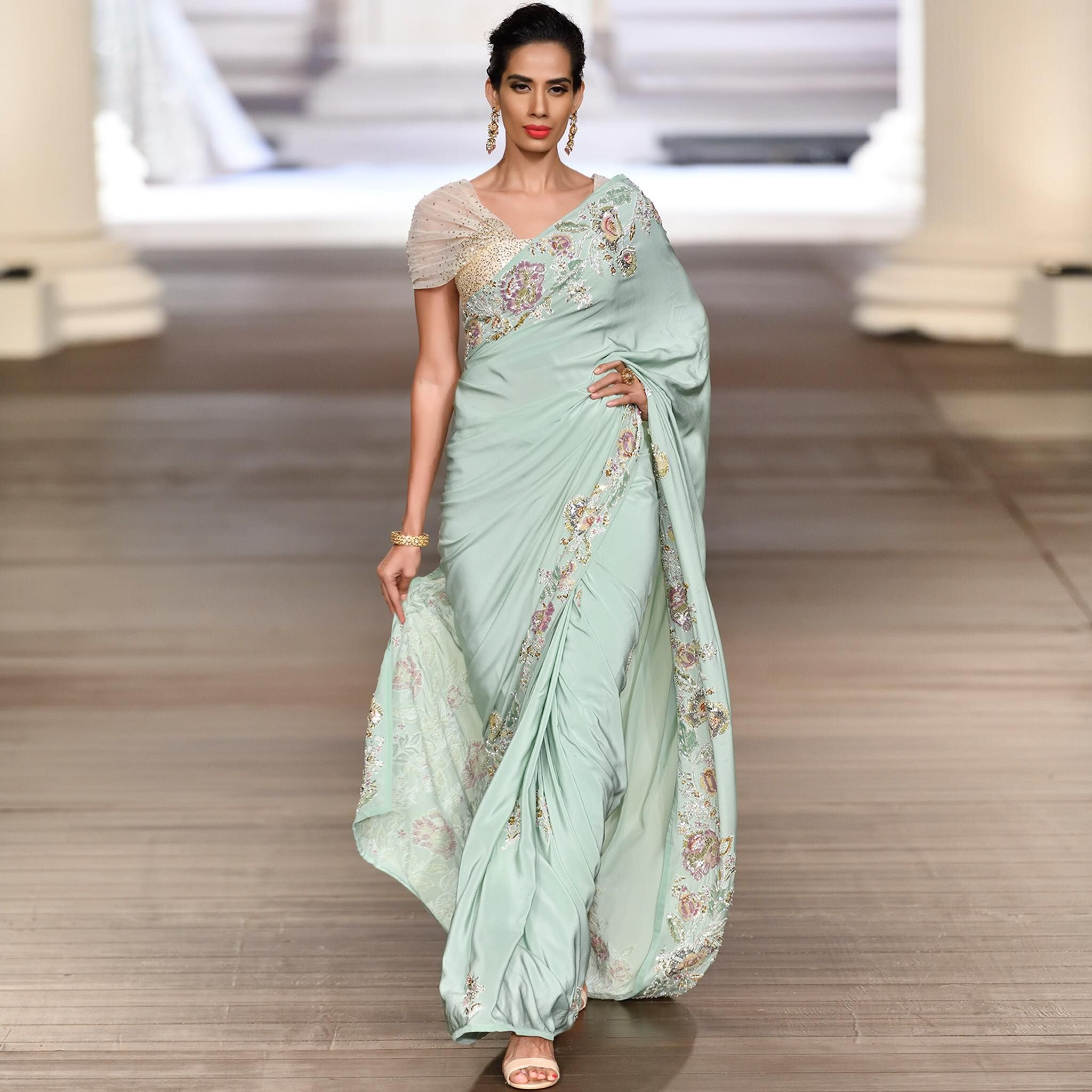 f1a05262b3a92 Shyamal Bhumika Collections. Contact : 91-9833520520 . | Embroidery ...