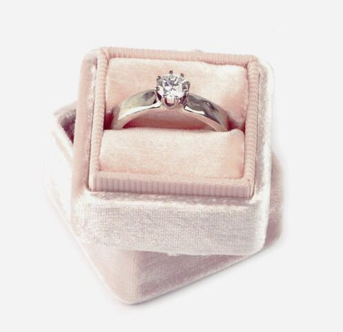Diamonds are for ever Wedding ring in white gold handmade by