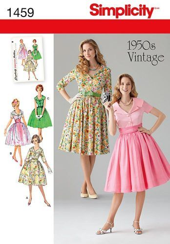 Reproduction Vintage Sewing Patterns Victorian To 1960s 1950s