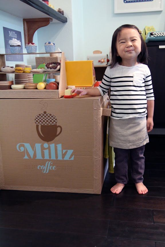 Elegant Absolutely Amazing Cardboard Coffee Shop Made For This Cutie. Iu0027m  Awestruck. This Good Ideas