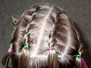 Little Girl's Hairstyles -French Twist Braids with Low Side Bun #lowsidebuns Little Girl's Hairstyles -French Twist Braids with Low Side Bun #lowsidebuns