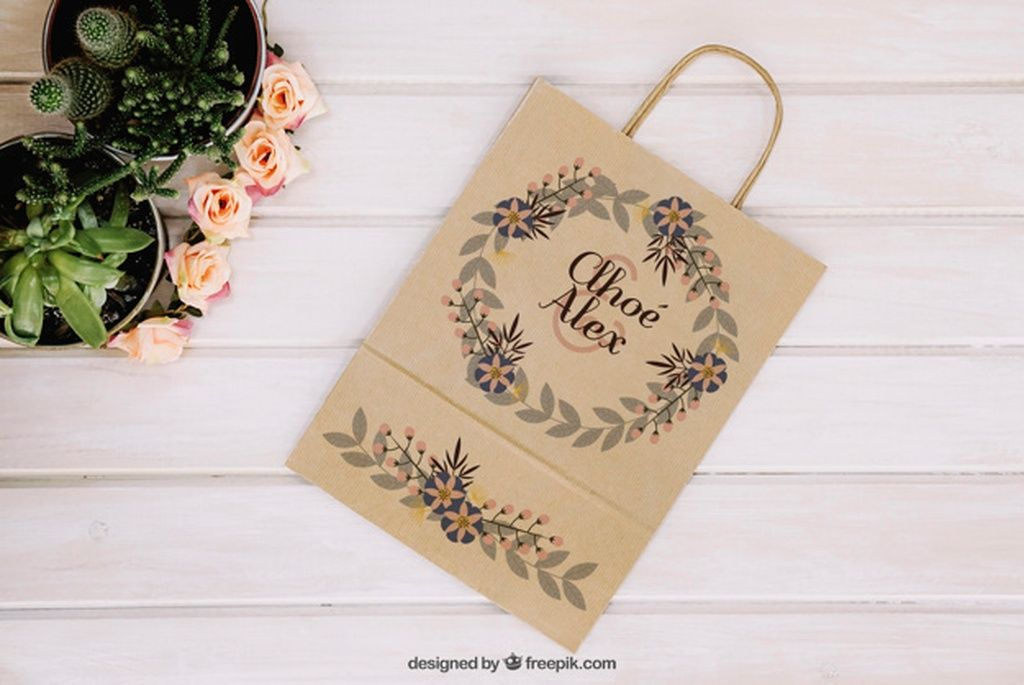 Download Bag Mockup With Plants Paid Sponsored Ad Plants Mockup Bag Bag Mockup Free Psd Plants