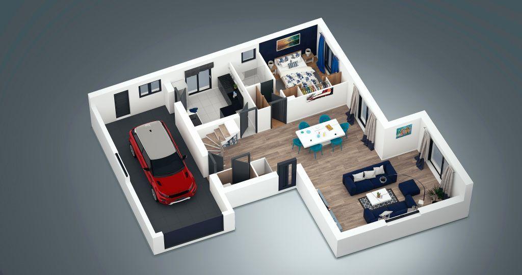34 Logiciel Plan 3d Gratuit Dessiner Votre Plan De Maison 3d Plan De La Maison Construction Plan Design House Design