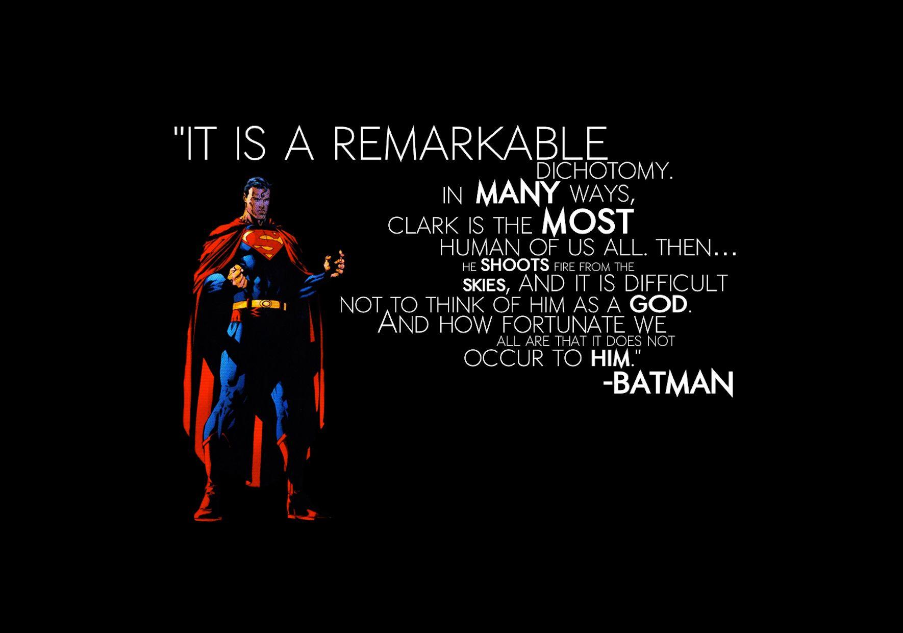 Superman Quotes On Pinterest