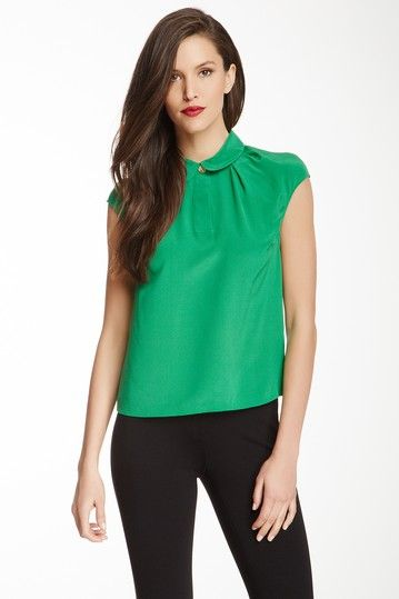 9e73f5810777b3 Maddi Woven Silk Blouse by Ted Baker on  HauteLook Love Clothing