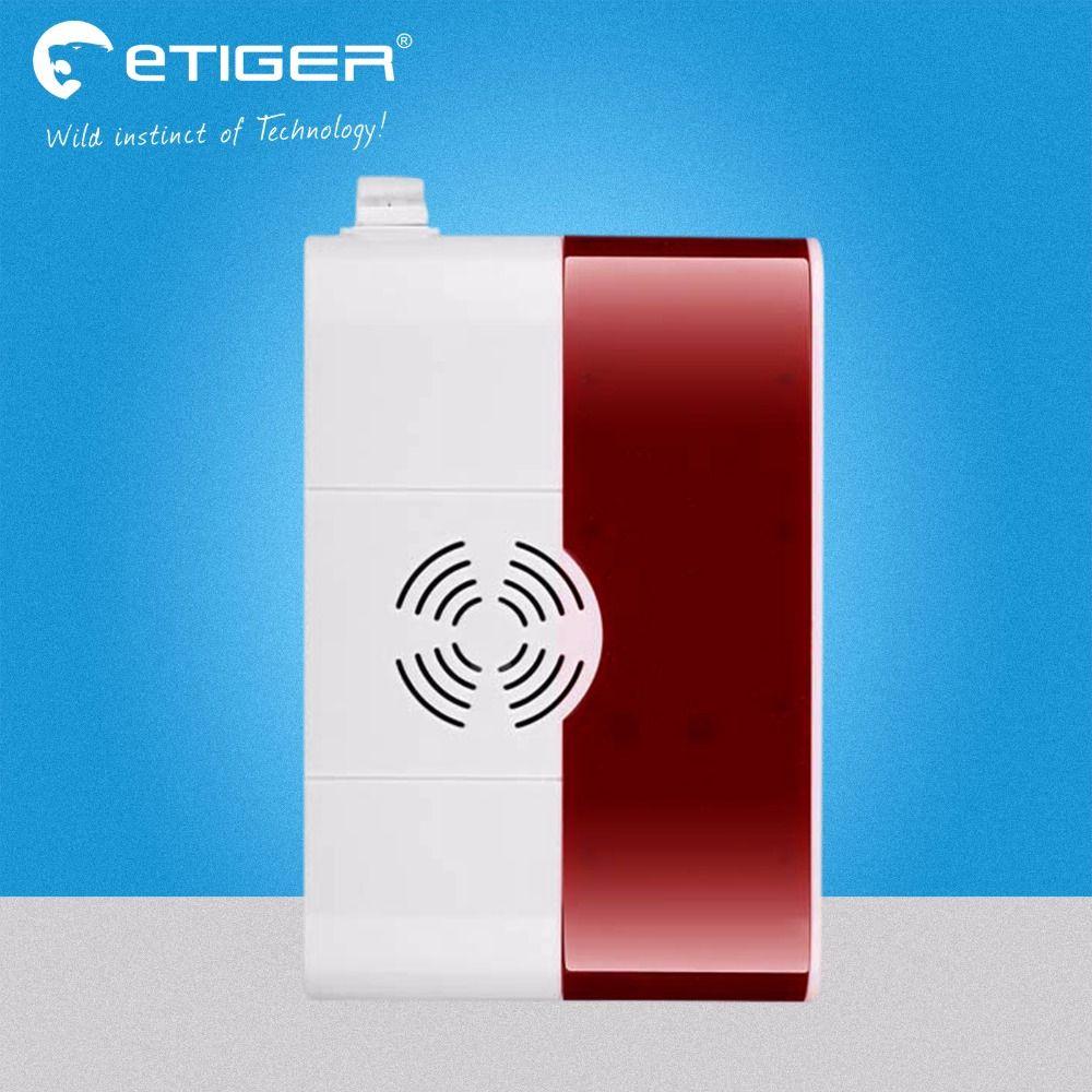 Etiger wireless combustible gas detector for gsm burglar