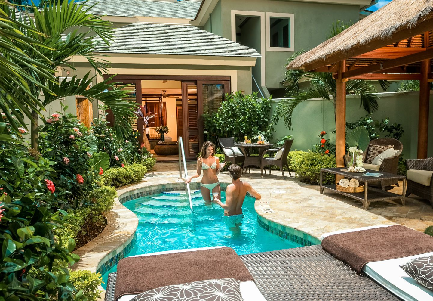 The Millionaire Honeymoon Butler Suite With Private Pool