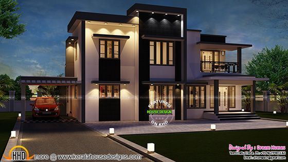 India home design in 2288 sq ft Villas Pinterest