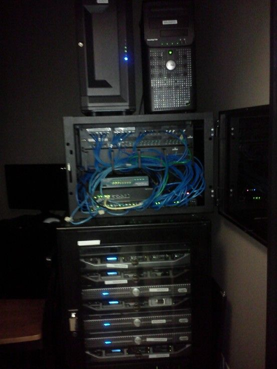 Server Rack Home Automation Home Network Data Center Design