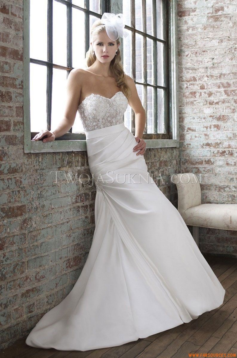 Robes de mariée Moonlight J6260 Spring 2013