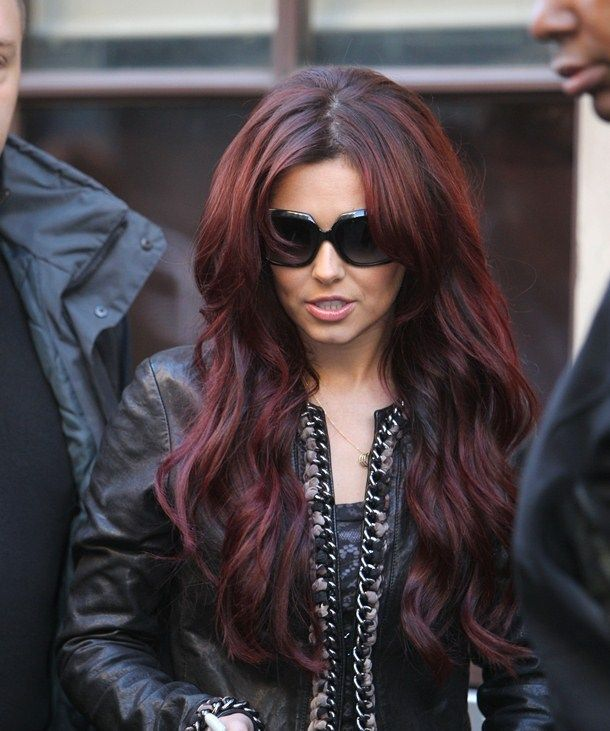 this is perfect, not too much red and a dark brown. reallyy want ...