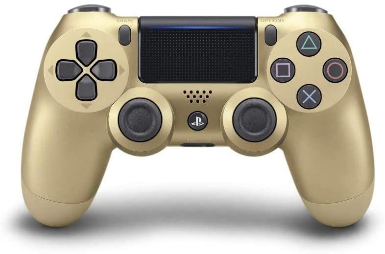 Manette Dualshock V2 Pour Ps4 Or Amazon Fr Jeux Vidéo Ps4 Wireless Controller Dualshock Ps4 Dualshock Controller