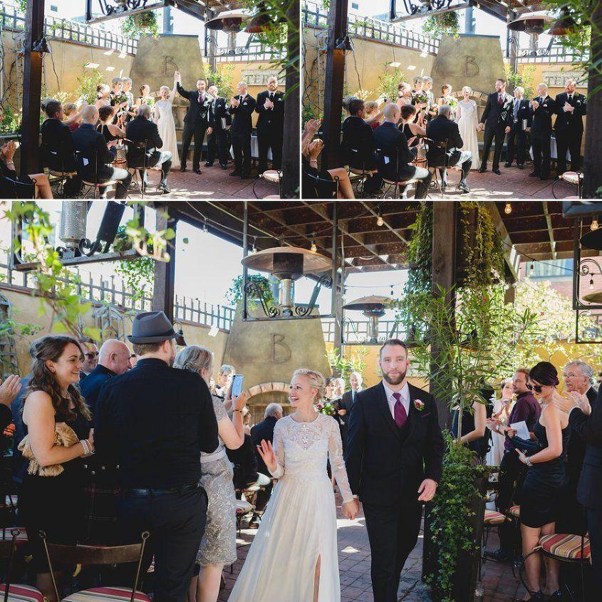 Bonterra Trattoria Ceremony Calgary Wedding Photography Bonterra