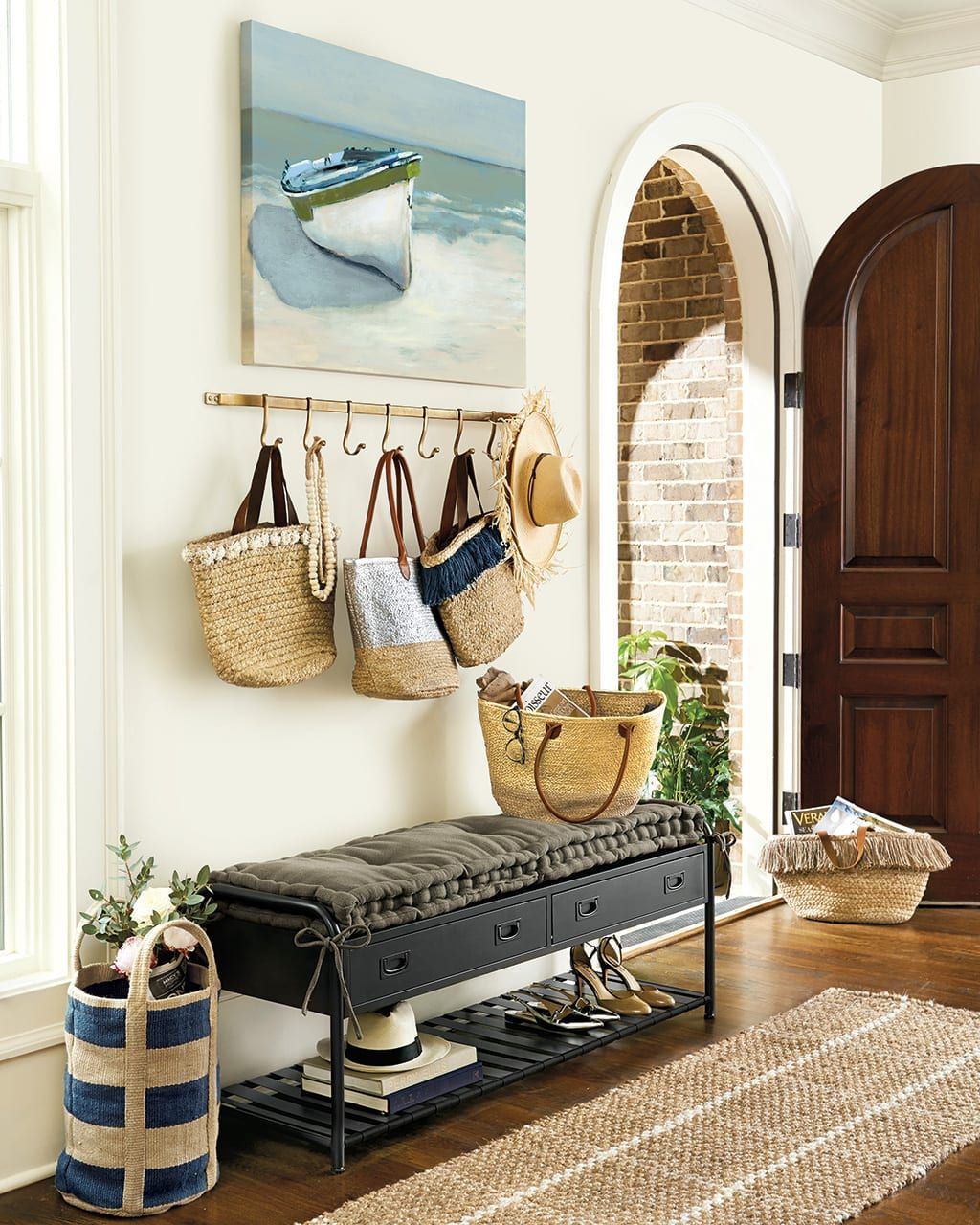 10 Ways To Fill A Blank Wall How To Decorate Decor Home Decor Foyer Decorating