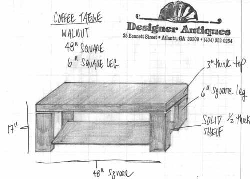 Coffee Table Designs Plans Use A Free Coffee Table Plan To Build
