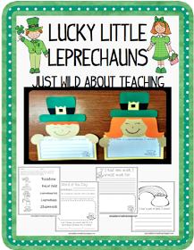 Just Wild About Teaching: Lucky Little Leprechauns