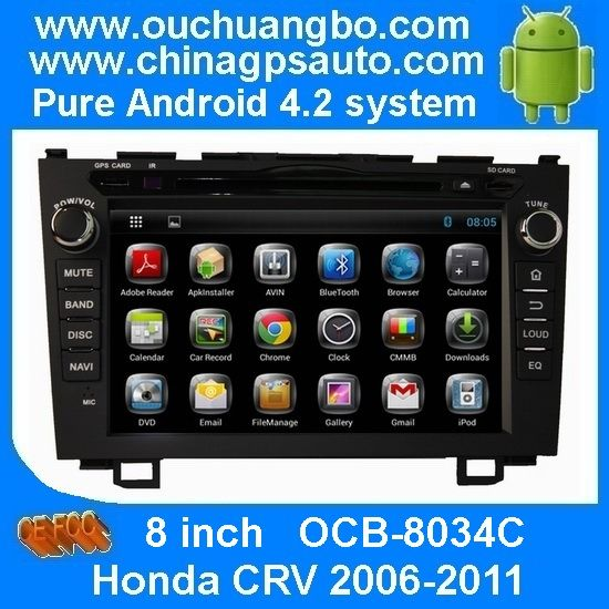 Ouchuangbo Android 4.2 Car GPS Navigation For Honda CRV 2006-2011 Capacitive Multiple Touch Screen iPod RDS  http://www.ouchuangbo.com/en/ProItem.aspx?id=1212&classlist=166.172.