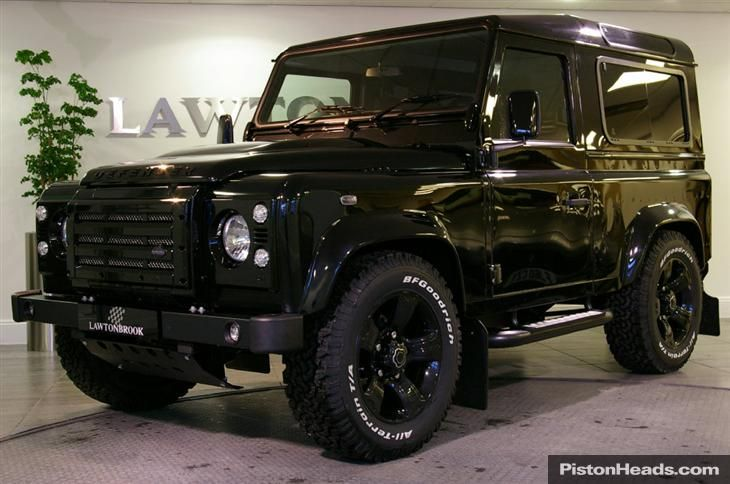Land Rover Defender Xs90 Urban Truck Black Edition Land Rover