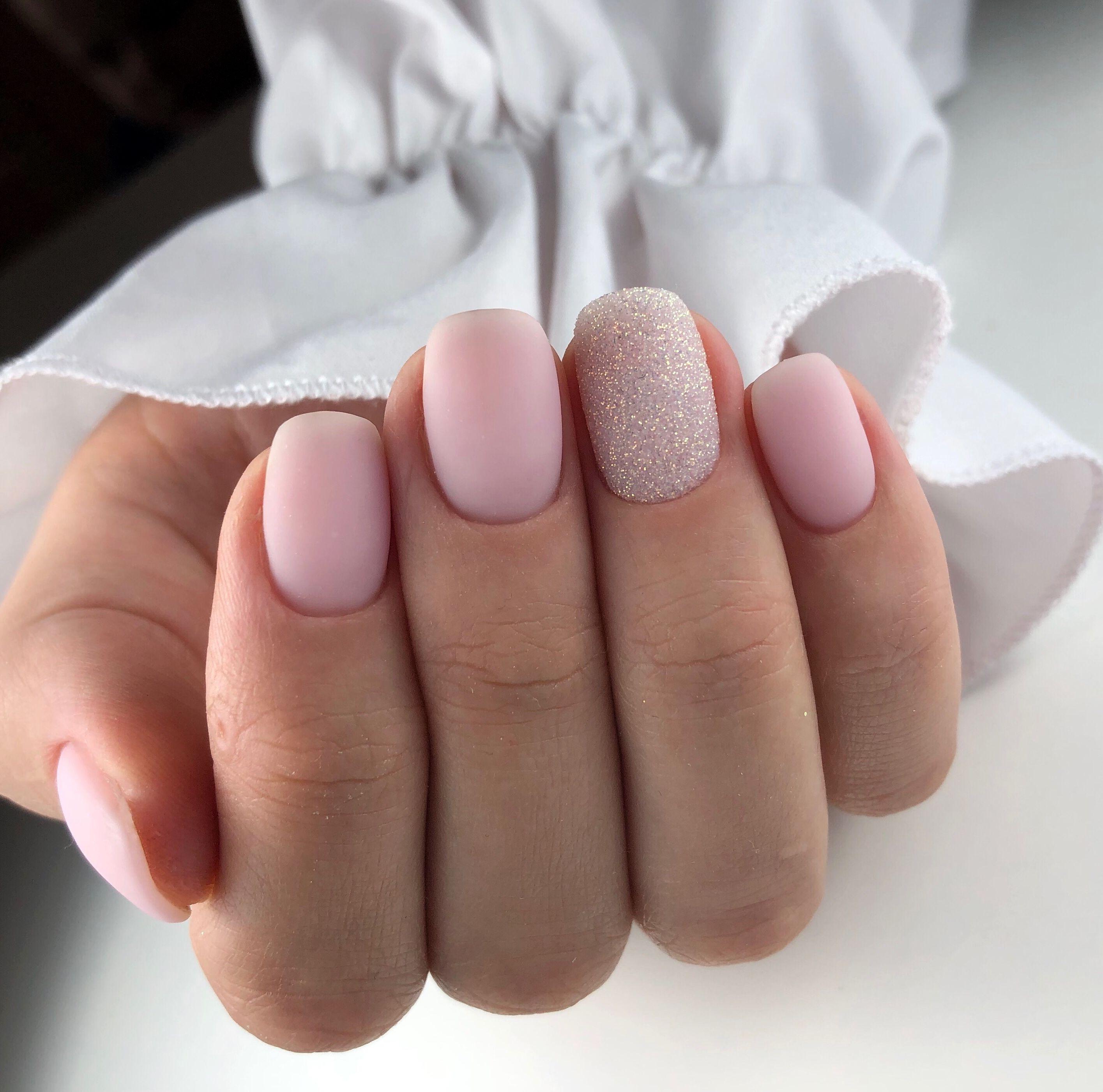 Mineral Base Indigo Nails Com Stylizacje Wykonala Amanda