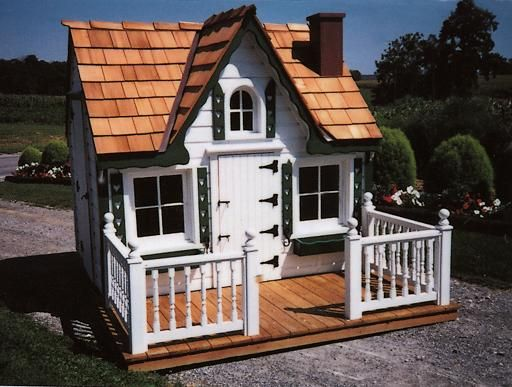 Deluxe Victorian Playhouse At Kaufolds Country Sheds Gazebos