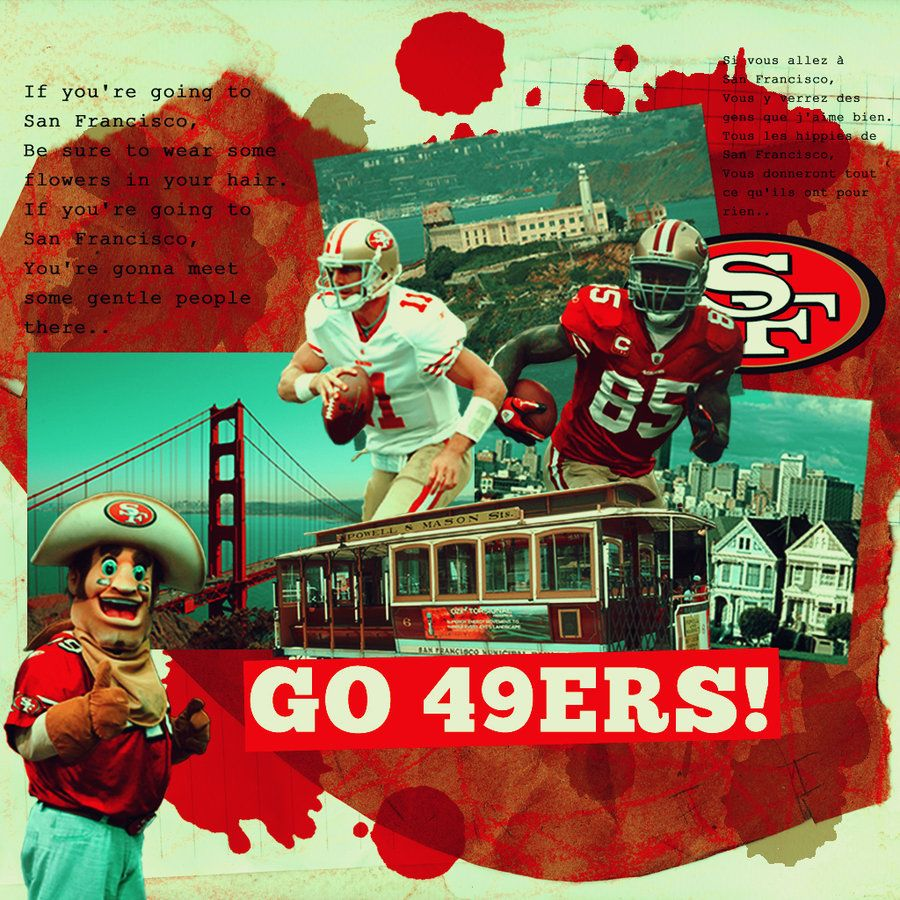 49ers Wallpaper San Francisco 49ers Collage And Ipad Wallpaper By Graciedesign On San Francisco 49ers Football Sf 49ers 49ers