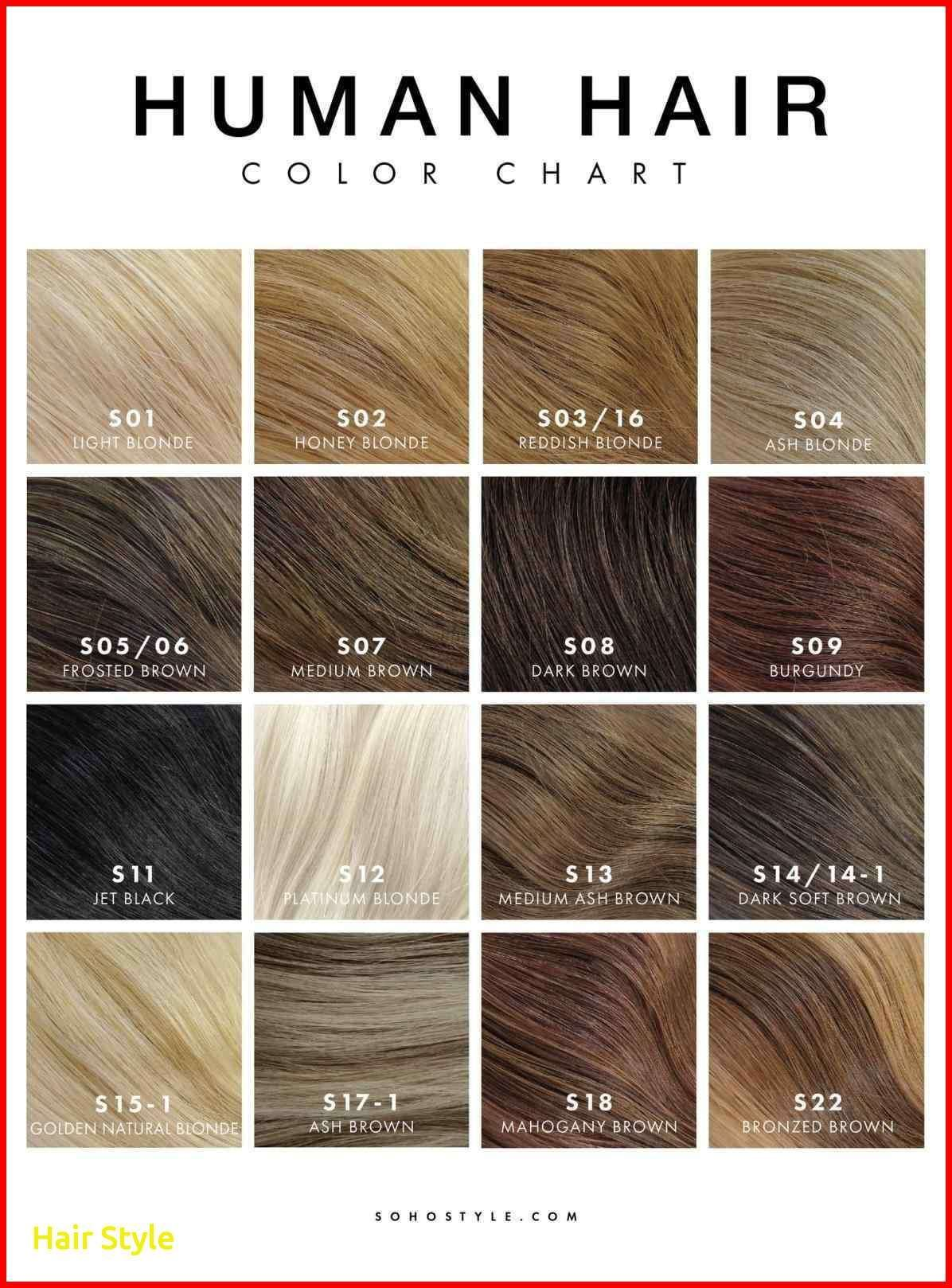 Haarfarbe schwarz zu hellbraun