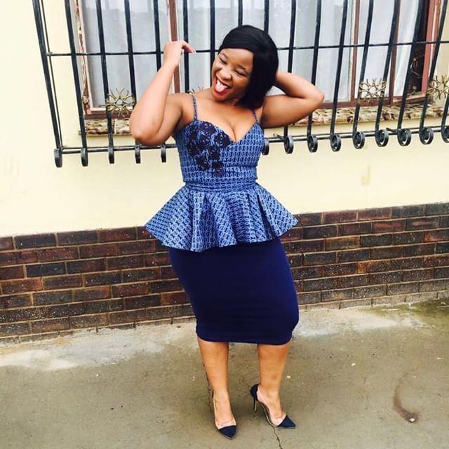 New Shweshwe Traditional Dresses 2019 • Stylish F9