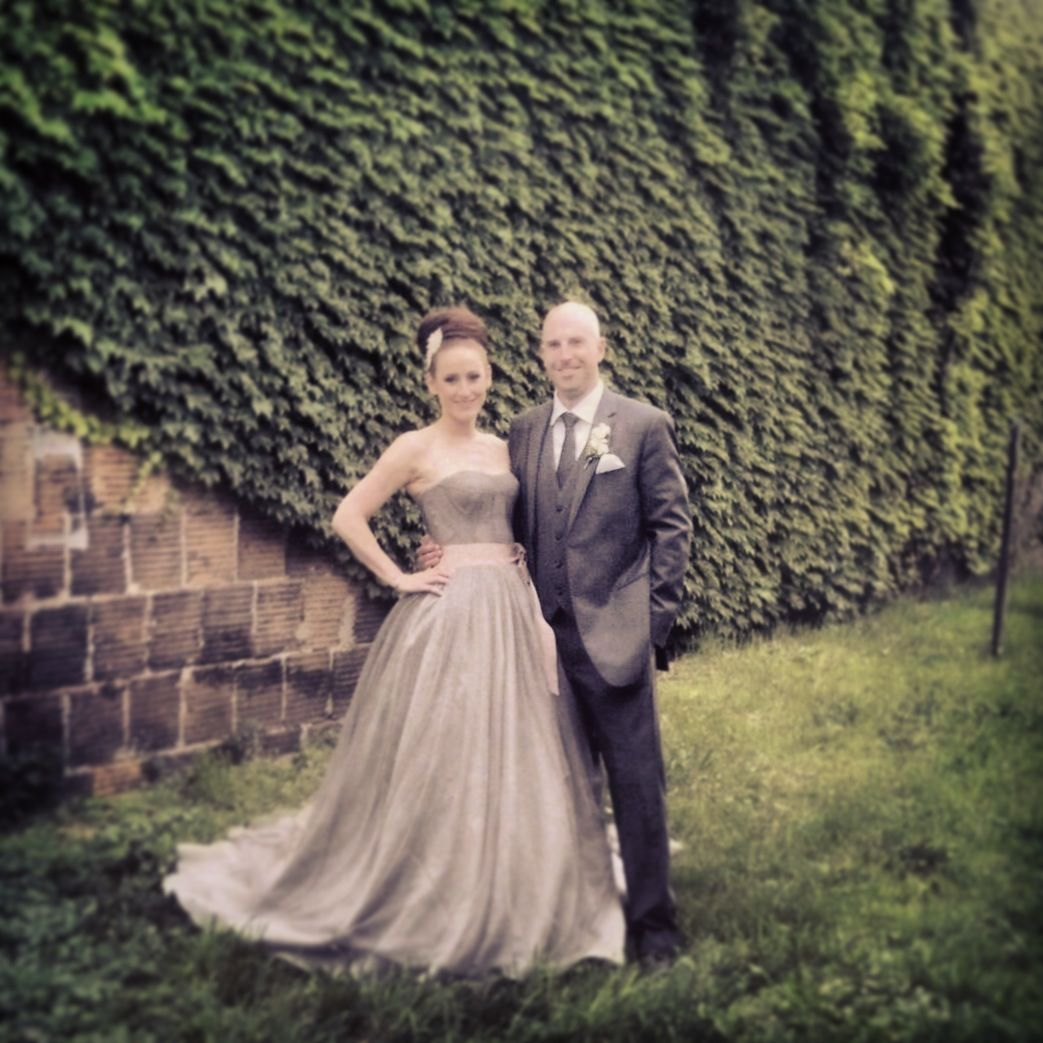 Gray Harlow Vera Wang Wedding Dress Wedding Pinterest