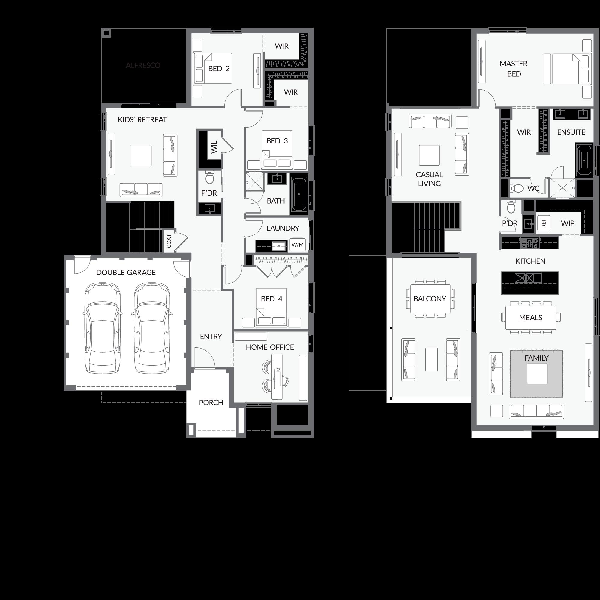 Urbanedgehomes Home Designs Double Storey